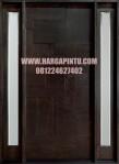 Desain Pintu Single Minimalis