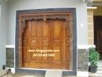Pintu Gebyok Garasi Rumah