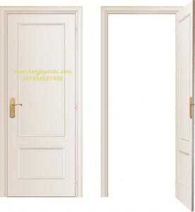 Desain Pintu Single Minimalis Murah Putih Modern Simple - Harga Pintu
