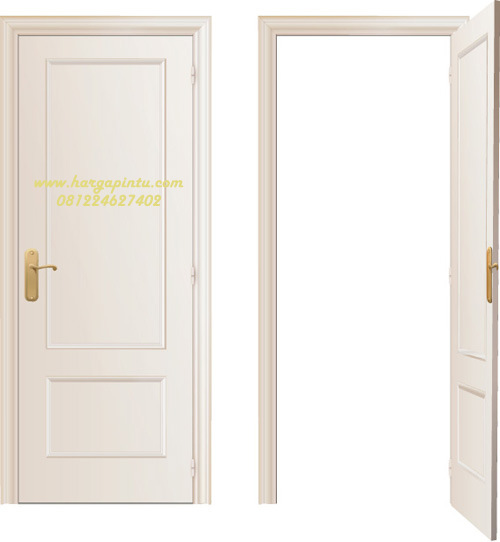Pintu Single Minimalis Kamar Model Vector