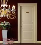 Pintu Kamar Tidur Cat Duco Putih Minimalis