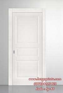 Pintu Single Murah Minimalis Cat Duco