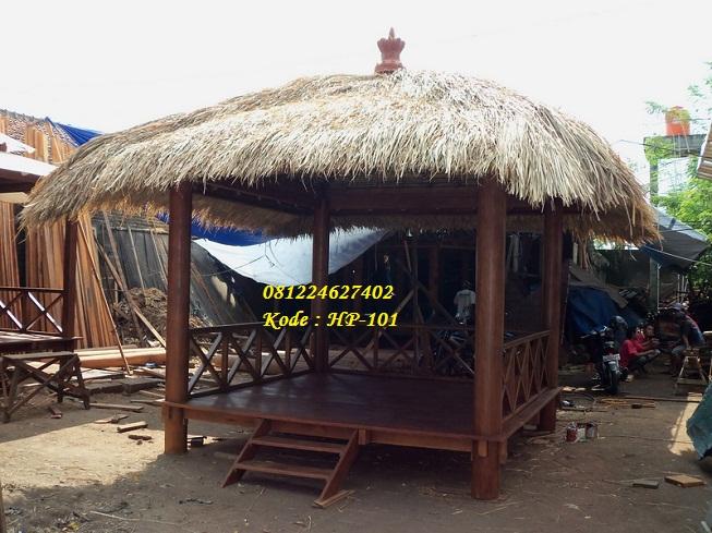 Gazebo Minimalis Atap Alang