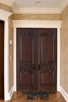 Pintu Kupu Tarung Klasik Mahogany Solid HP-98