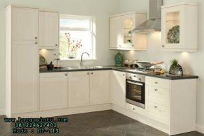 Desain Kitchen Set Minimalis Putih Duco Modern