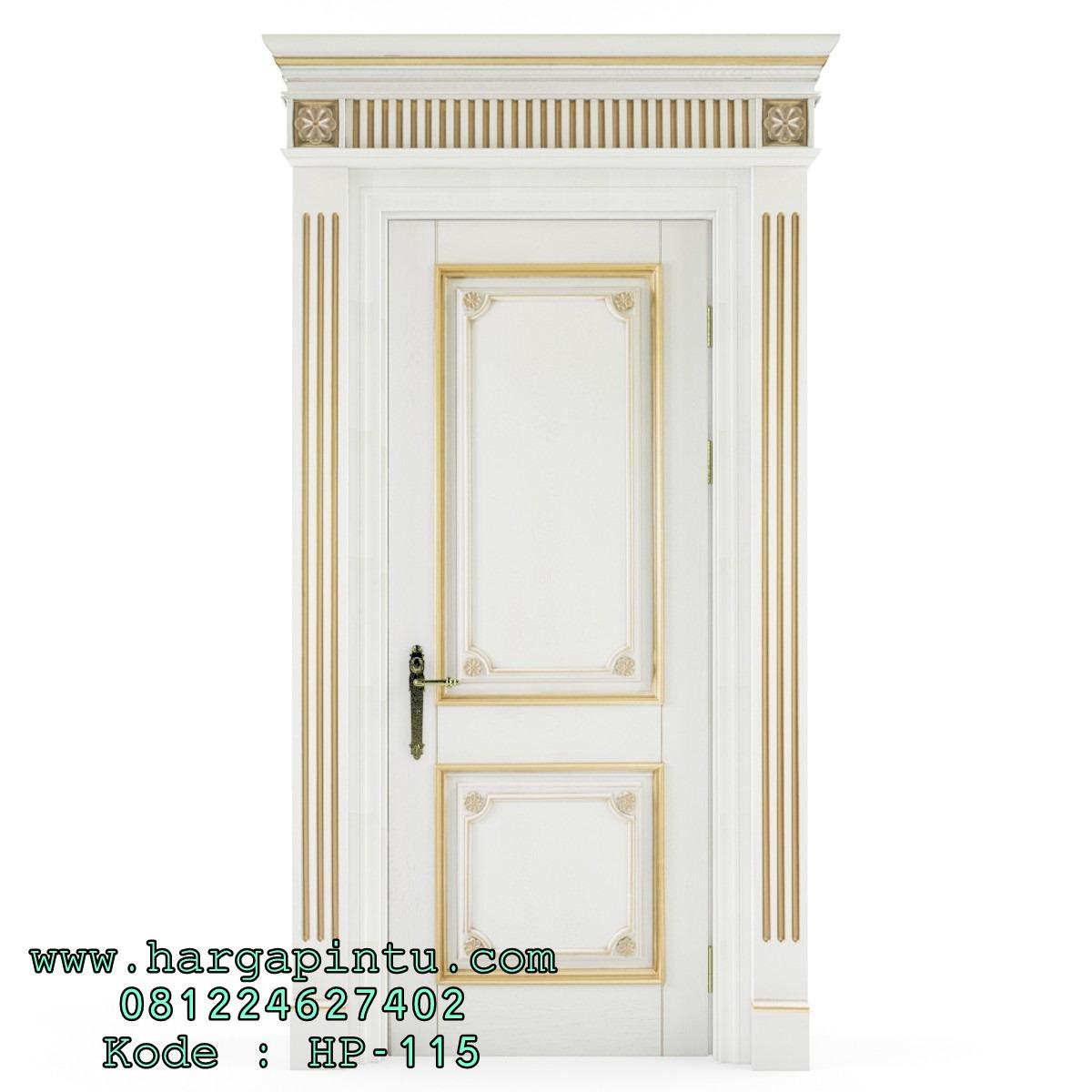 Pintu Kamar Mewah Klasik Duco Gold HP-115