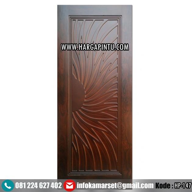 Pintu Kayu Jati Cahaya Matahari HP-147
