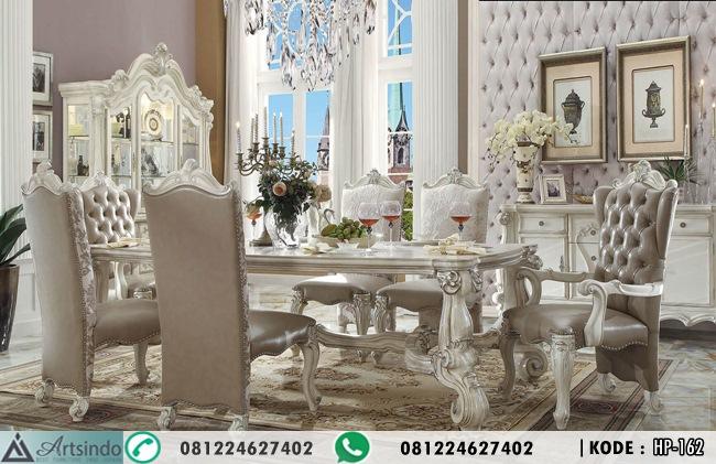 Set Meja Makan Kursi Mewah Versailles