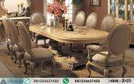 Meja Makan 8 Kursi Elegan HP-179
