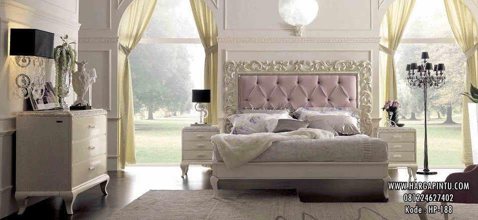 Set Kamar Ukir Elegan Klasik Simple