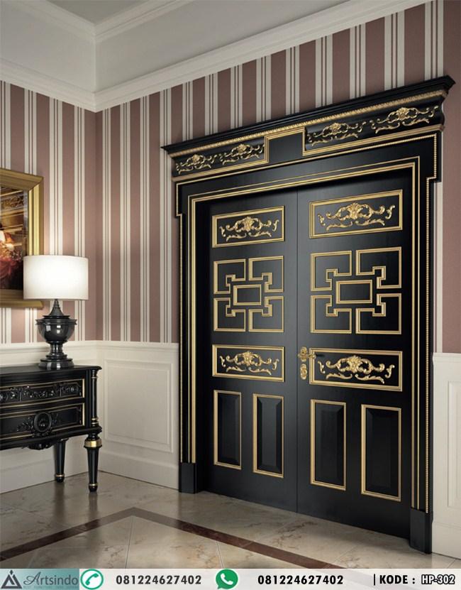 Desain Pintu Kupu Tarung Black Gold HP-302