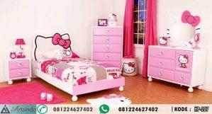 Tempat Tidur Hello Kitty Karakter Anak Perempuan