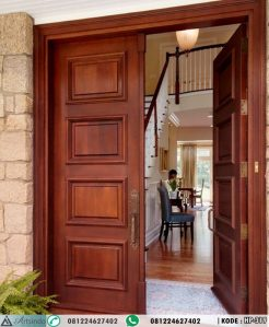 Pintu Kayu Jati Minimalis Jepara HP-319