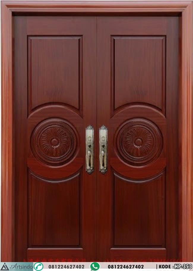 Pintu Depan Panil Klasik Modern Kupu Tarung