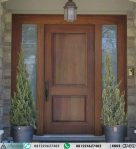 Pintu Jati Minimalis Sambung Jendela