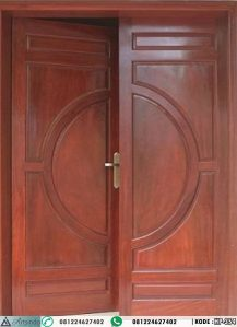 Pintu Kupu Tarung Simple Elegan HP-354