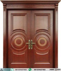 Pintu Rumah Mewah Klasik Kayu Jati HP-356