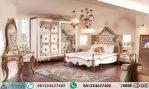Set Kamar Tidur Utama Klasik Ukiran Gold HP-343