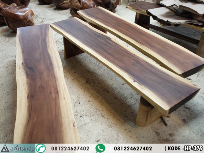 Bangku Bench Kayu Trembesi HP-379