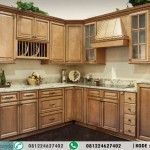 Desain Kitchen Set Minimalis Murah Model L