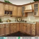 Desain Kitchen Set Minimalis Murah Model L