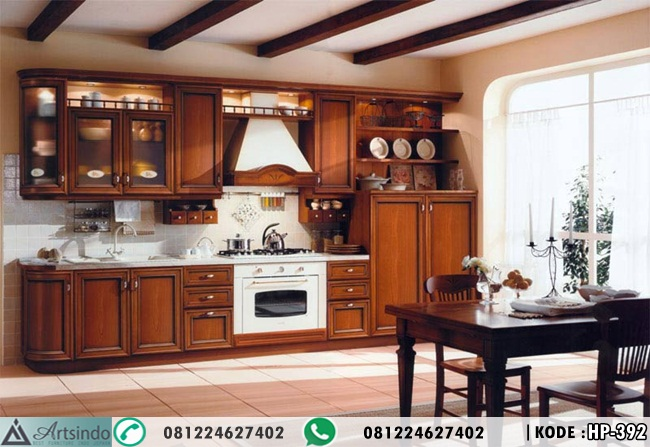 Kitchen Set Kabinet Elegan