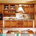 Kitchen Set Kabinet Jati Model Minimalis Terbaru