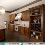 Kitchen Set Klasik Lurus