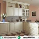 Kitchen Set Klasik Putih Tulang
