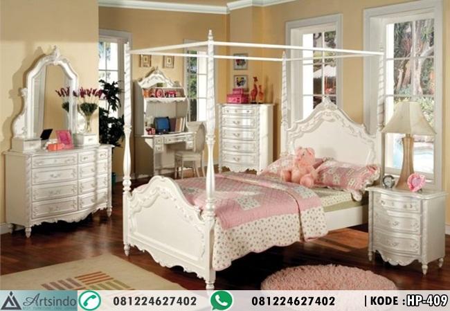 Tempat Tidur Anak Princess Model Kanopi