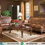 Satu Set Sofa Kursi Tamu Elegan Sultan Furniture HP-438