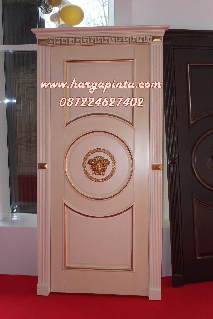 Desain Pintu Rumah Model Single Klasik Ukiran Terbaru