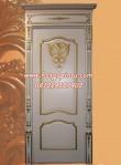 Model Pintu Kamar Tidur Gold Putih Duco