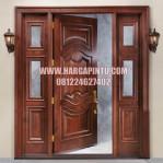 Pintu Rumah Utama Modern Klasik Kayu Jati