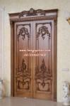 Pintu Ukir Rumah Utama Saera
