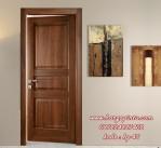 Pintu Kamar Kayu Jati Desain Minimalis
