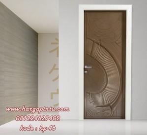 Pintu Motif Abstrak HP-46