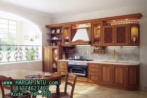 Contoh Kitchen Set Dari Kayu Jati Kitchen Appliances Tips And Review