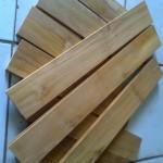 Lantai Kayu Jati Mini flooring kw 1