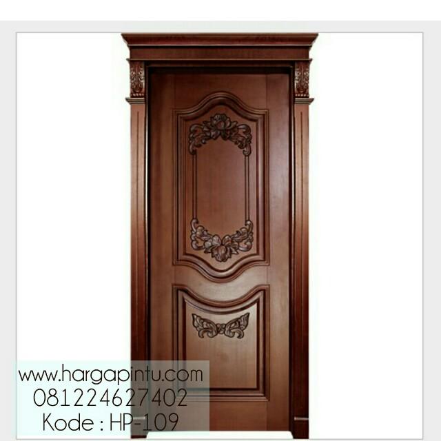 Pintu Ukir Klasik Single Mewah HP-109