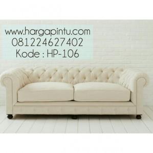 Sofa Minimalis Klasik Elegan 2 Dudukan HP-106