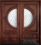 Pintu Jati Jepara Double Kontemporer Klasik