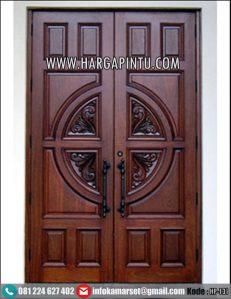 Pintu Double Ukir Minimalis Terbaru HP-131