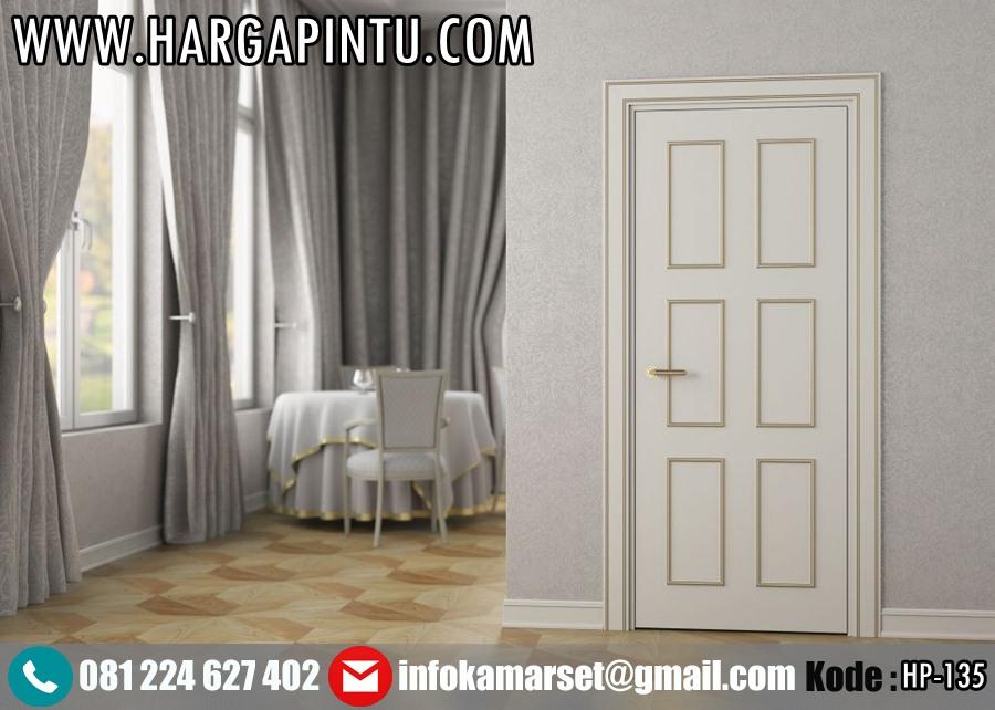 Pintu Kamar Minimalis Klasik Panel Gold Duco HP-135