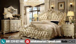 Set Kamar Tidur Mewah Klasik Ukir King HP-141