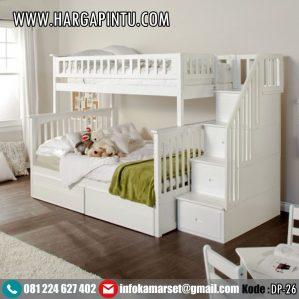 Tempat Tidur Tingkat Anak Perempuan & Laki-Laki