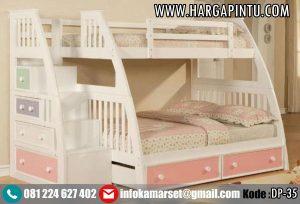 Tempat Tidur Tingkat Warna Soft