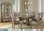 Set Meja Makan Mewah Klasik Florentina