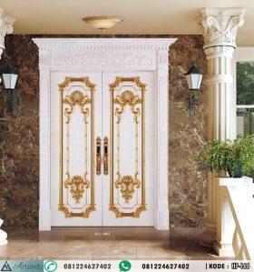 Pintu Utama Mewah Klasik Double HP-166