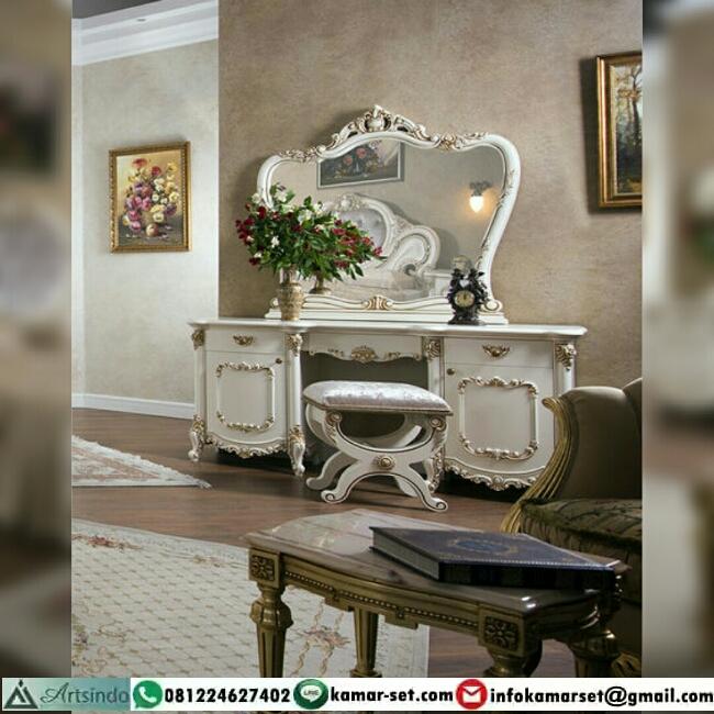 Meja Rias Mewah Jasmine